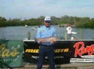 Redfish and Florida Fisherman